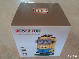 CIRCLEG MINIONS LOZ LEGO 微鑽積木 細過粒米阿 (1)