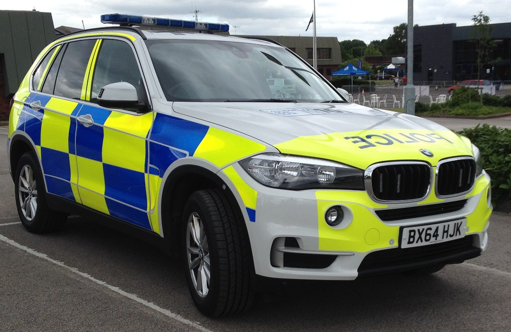 Staffordshire Police Bmw X5 Armed Response Vehicle Bx64 Hj