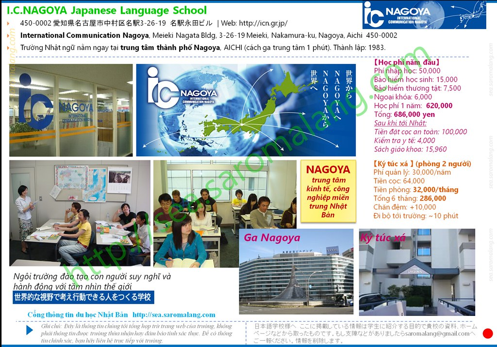 I.C. NAGOYA Japanese Language School