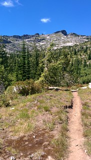 Hiking towards the High Country
