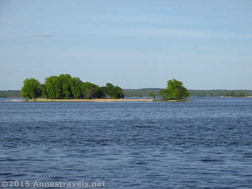 Islands on Kabetogama Lake, Voyageurs National Park, Minnesota