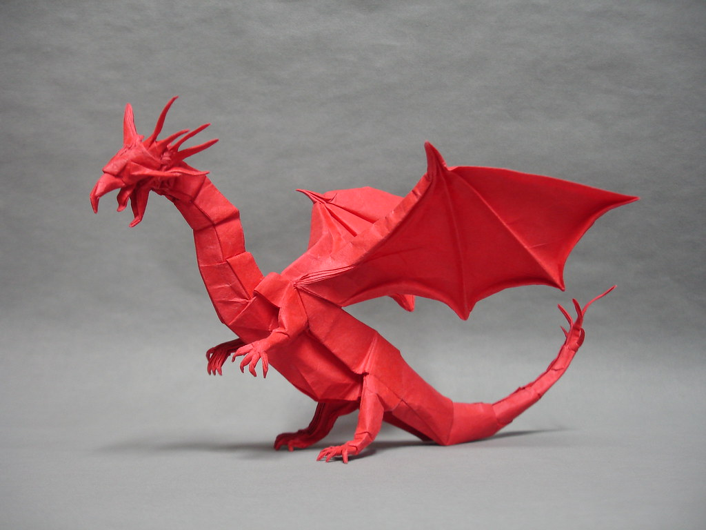 Western Dragon | A refold of my Western Dragon with tongue ... - photo#48