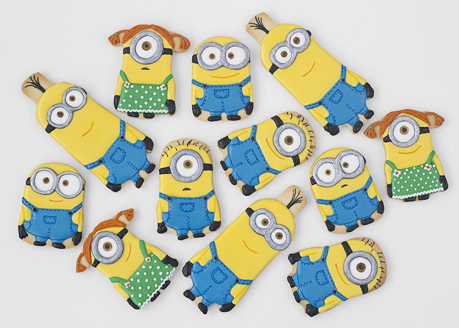 como hacer galletas decoradas minions