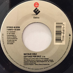 NATALIE COLE:UNFORGETTABLE(LABEL SIDE-B)