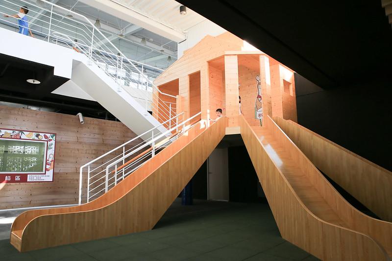 壯觀的滑梯