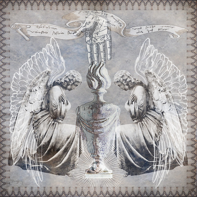 Kneeling-angel