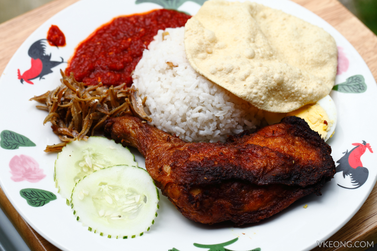 MakeMake Cafe Nasi Lemak Fried Chicken