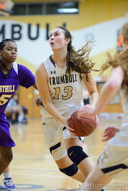 Trumbull High vs. Westhill - Girls High School Basketball