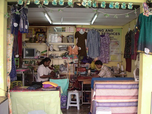 Indian Tailor Shop At The Heart Of Johor Bahru Haniff Flickr