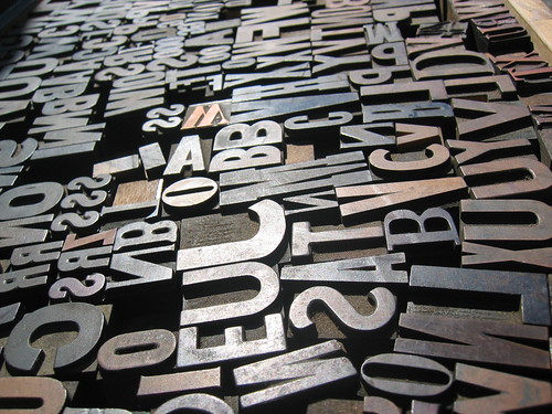 a sea of type | by pheezy