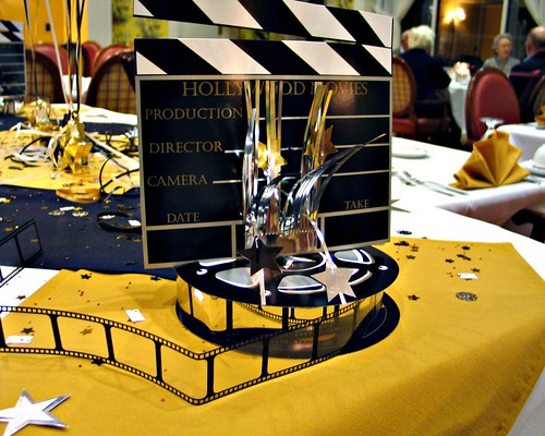 Oscar Night Table Decorations | We live at Willow Valley ...