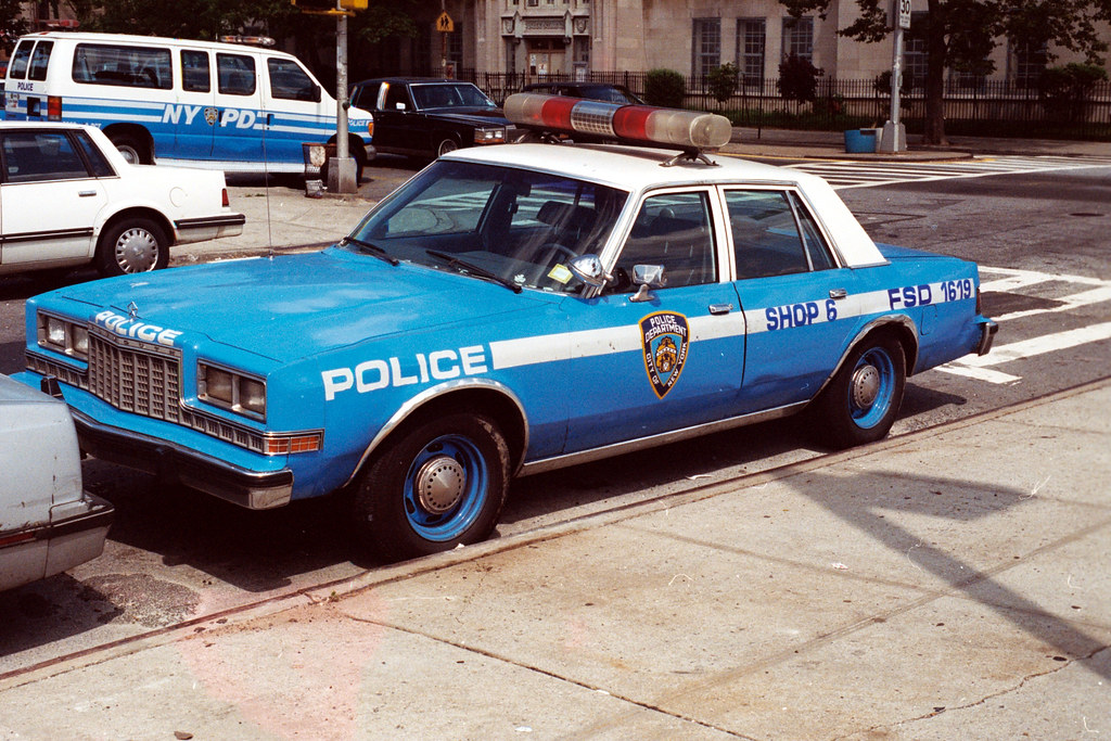 Nypd Gran Fury 1998 This Was A Shop Unit As Cars With
