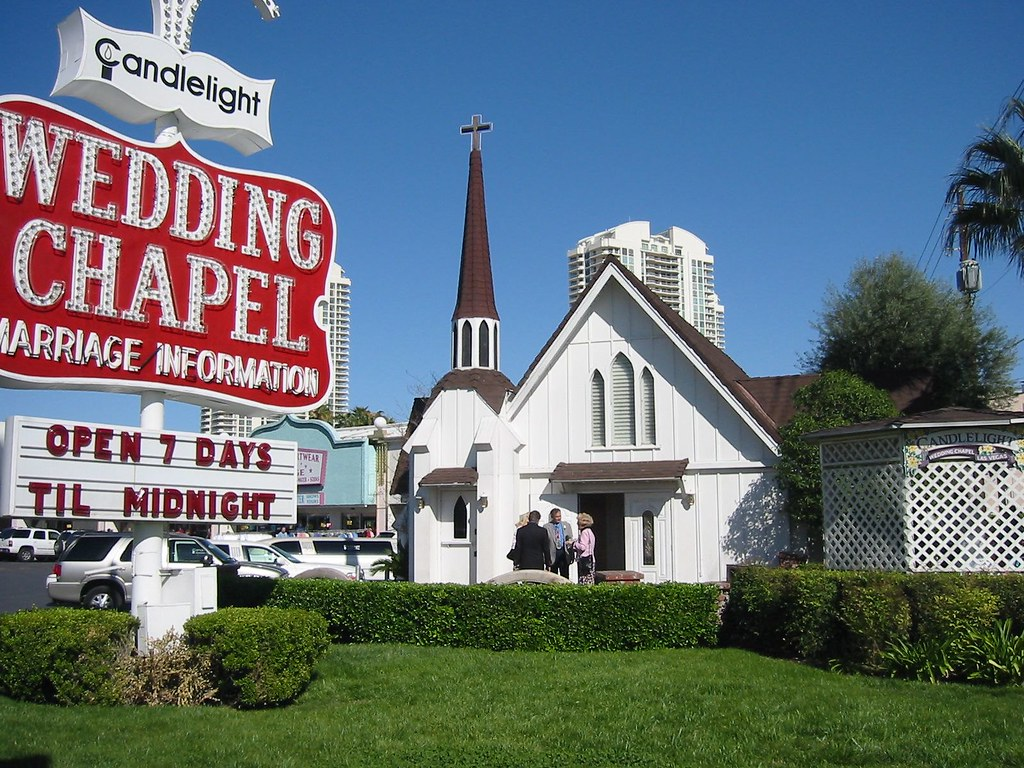 wedding chapel las vegas Candlelight Wedding Chapel by Ryan Johnston