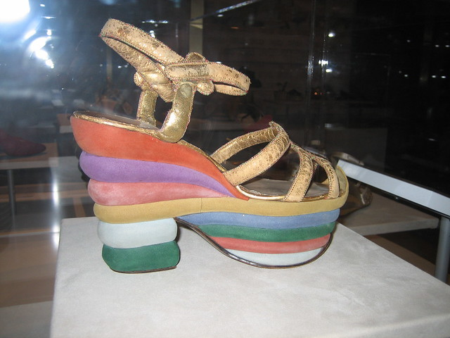 Rainbow Shoe Florence Shoes  And Half
