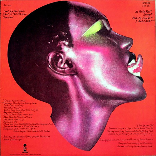 portfolio by grace jones  1977