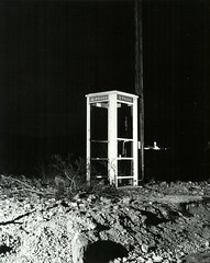 Phone booth near Death Valley 431-5--Oct 1981