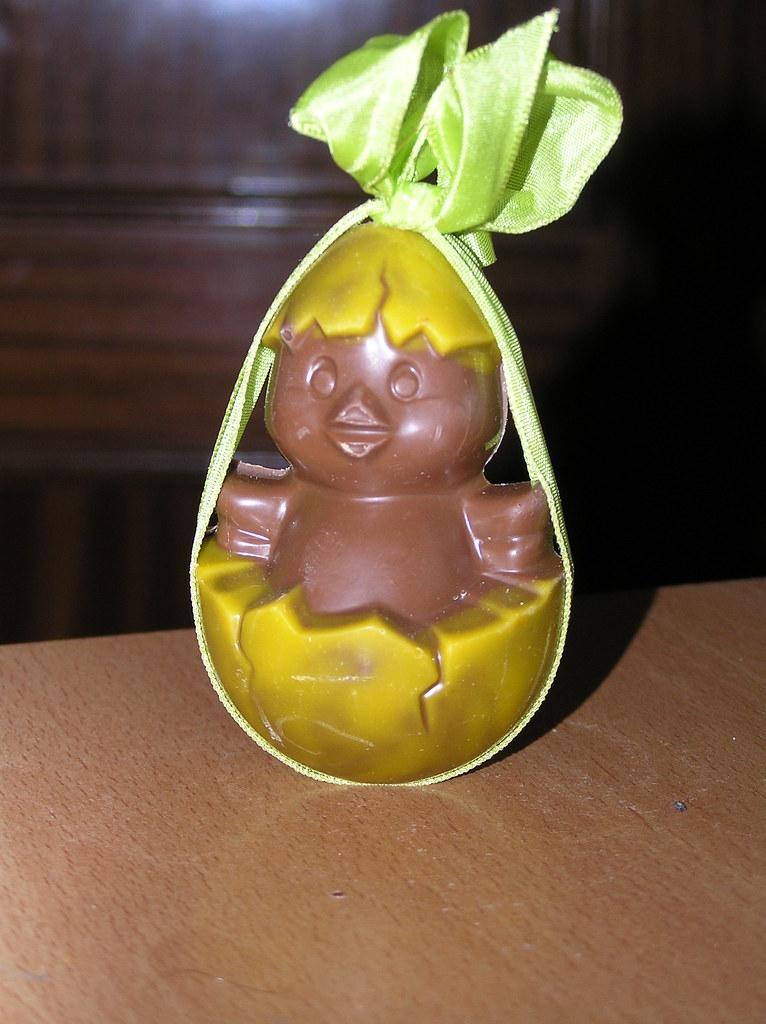 Huevo de pascua de chocolate el huevo de este a o flickr for Huevo en el ano