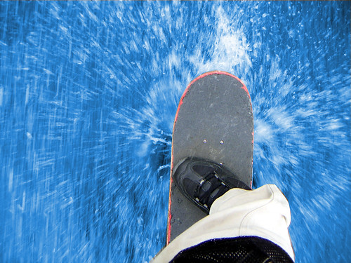 Skateboarding Through Water | by Christiaan Leever NL