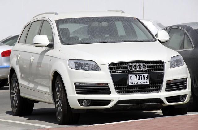 Audi Q7 42 Quattro Front