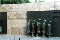 DC: Delano Roosevelt Memorial - Bread Line | by wallyg
