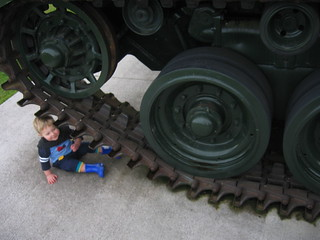 Toddler crushed by tank | by mangee