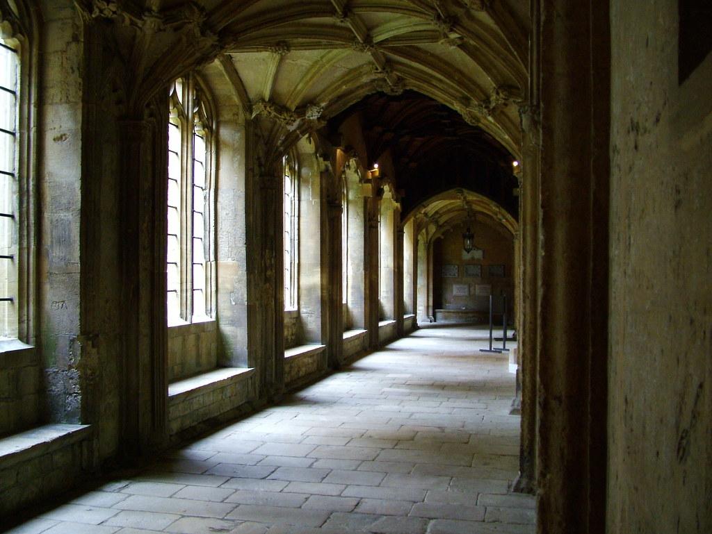 cloisters christ church college hogwarts cloisters