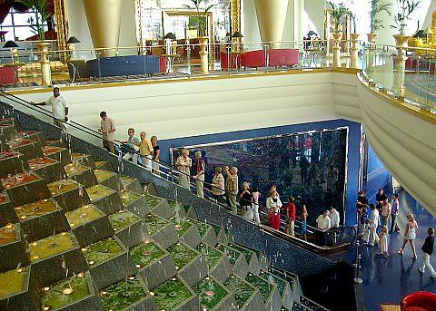 Burj Al Arab Hotel Inside Jon Arruabarrena Flickr