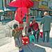 Chinatown Umbrella Folks