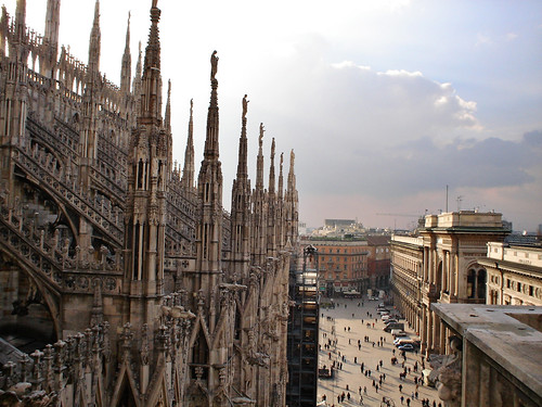 View from Milan's Duomo | by AnnuskA  - AnnA Theodora