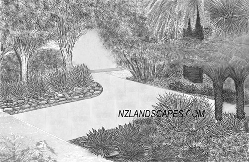Landscape design new zealand aucklan for Landscaping jobs auckland
