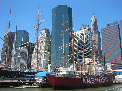 NYC: South Street Seaport and Ambrose | by wallyg
