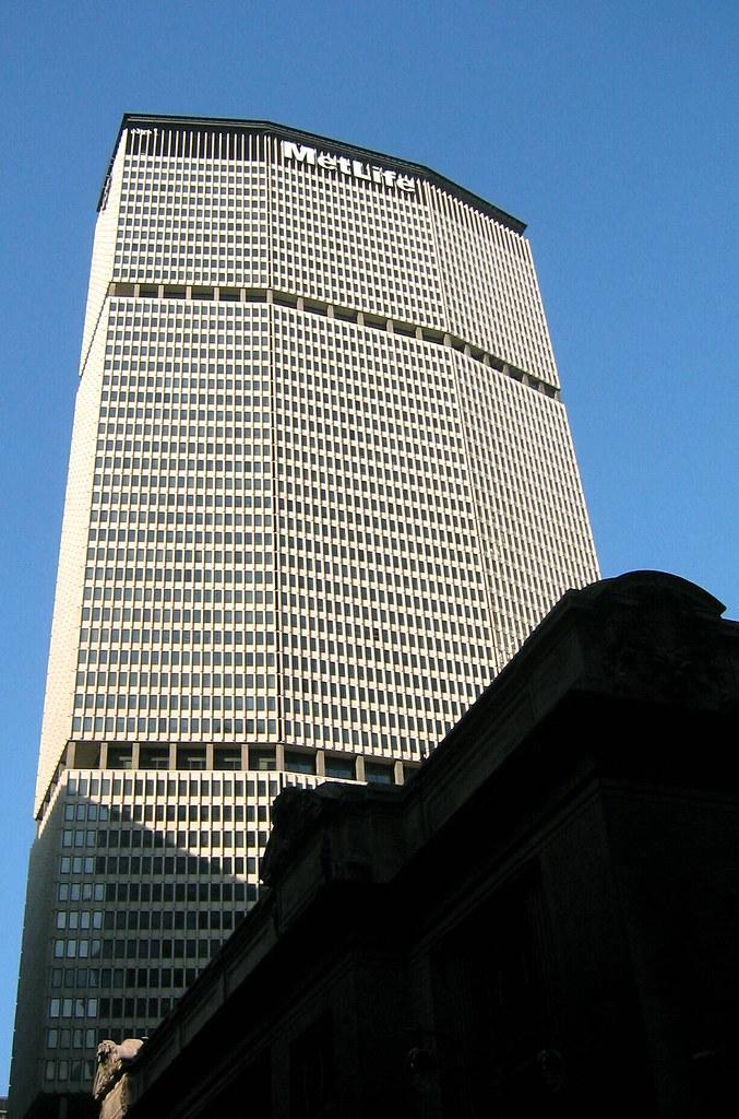 United Life Insurance >> NYC - Midtown: Met Life Building   The MetLife Building ...