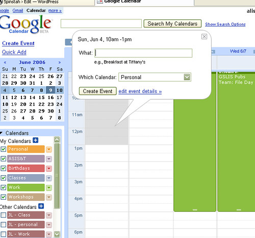 google calendar add an event adding an event by drawing flickr. Black Bedroom Furniture Sets. Home Design Ideas