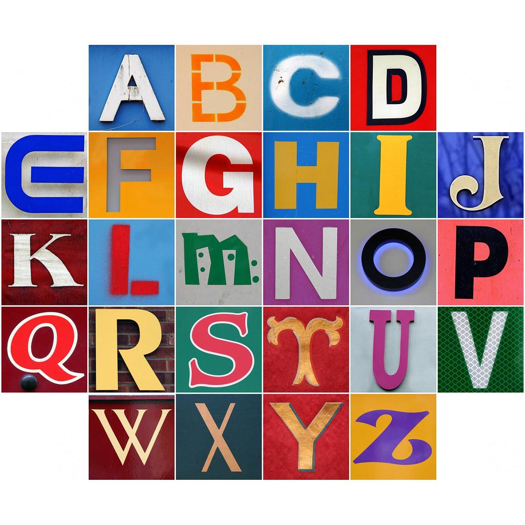 50pcs/lot Crystal Silver Alphabet Charms Letters A B C D E