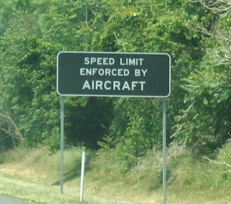 SPEED LIMIT ENFORCED BY AIRCRAFT | by AllWork