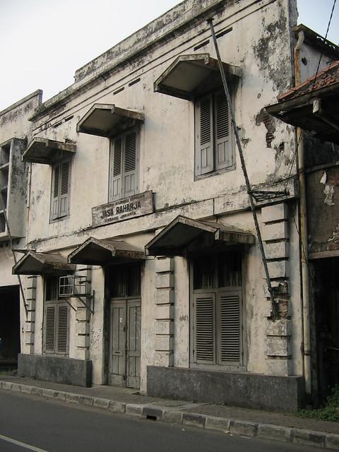 bangunan di kota tua batavia