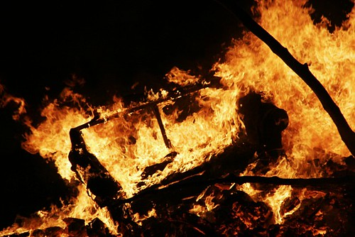 Sofa Burning | by Donncha Ó Caoimh