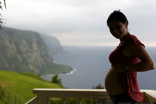silhouette of our unborn child in hawaii inside rachel - _MG_6371 | by sean dreilinger