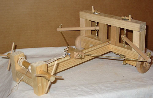 Ballista My Table Top Ballista Made From Plans In Quot The