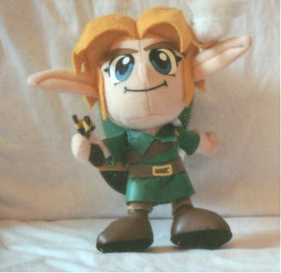 Plush Young Link | Young Link from Ocarina of Time in cute ...