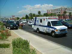 Ambulance @ Car Accident | by Roadsidepictures