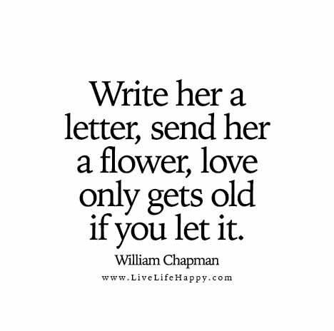 Write her a letter