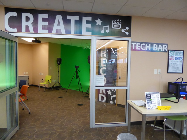 The studio and tech bar - Southglenn Library