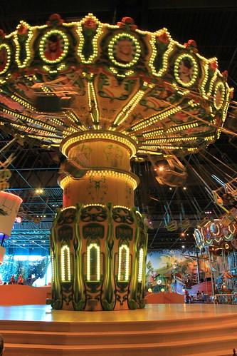 indoor carousel Plopsa Hasselt