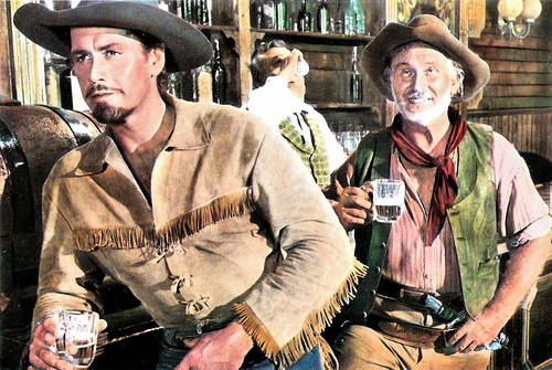 Gordon Scott in Buffalo Bill, l'eroe del Far West (1965)