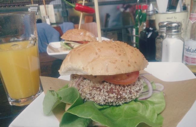 handmade bruger co vegan burger