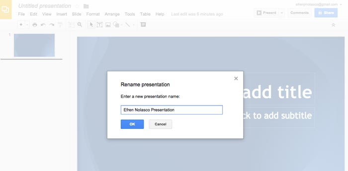 How to create powerpoint presentation online step 5