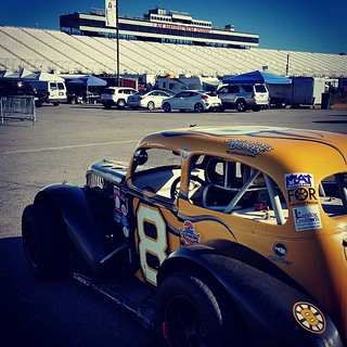 Happy to finally be back at @nhms today! #uslegendscars #GraniteStateLegends #8 #HooliganMotorsports #legendsracing #603 #loudonclassic #inexlegends #racecar #racing #moatmountainroadcourseseries #SignWorksOval