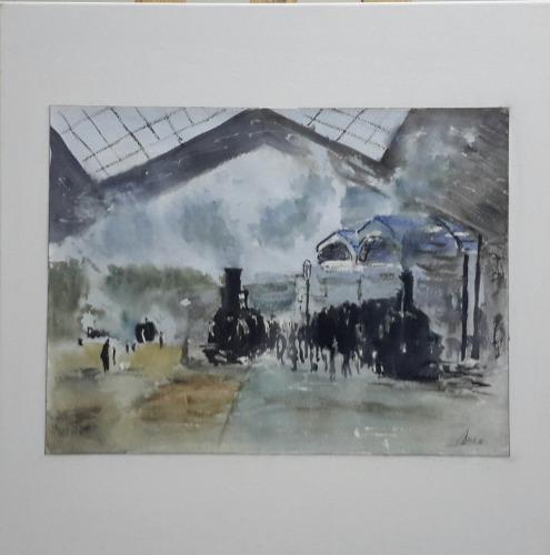 "Bene Lorenzo ""Gare St. Lazare"""
