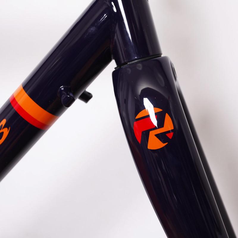 Kualis Cycles Steel Frame & Enve Fork Painted by Swamp Things